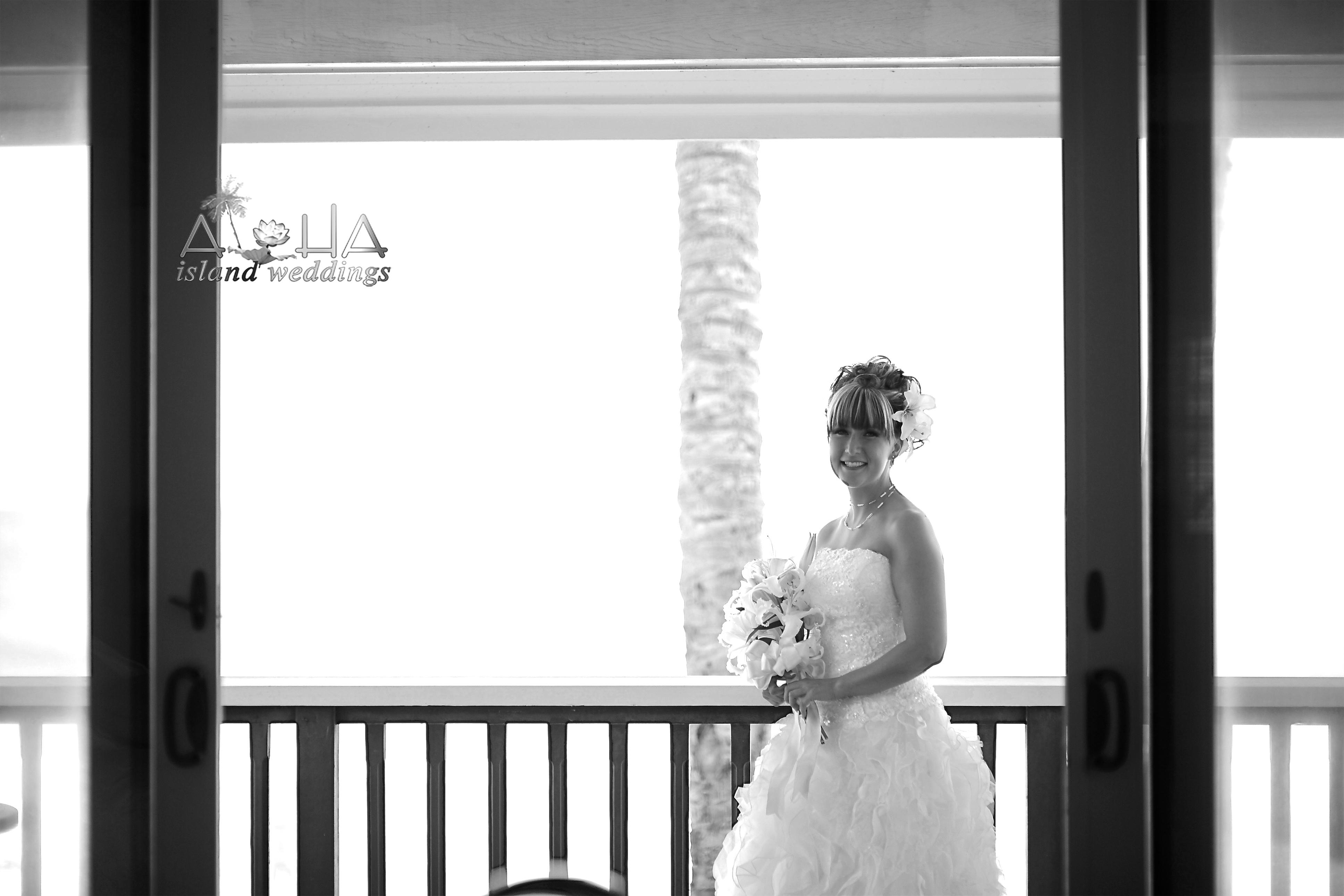 Happy bride picture