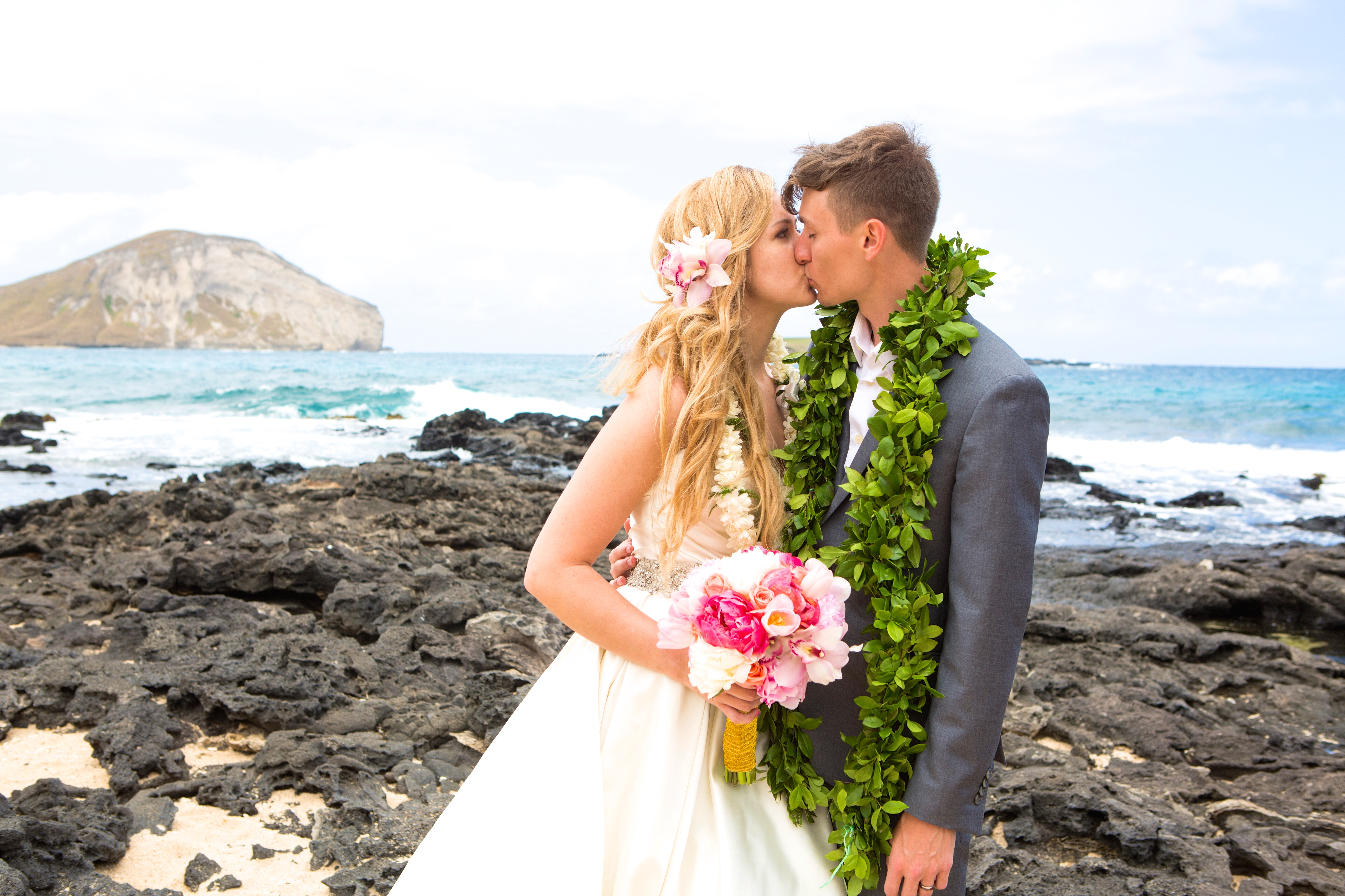 Hawaiian Wedding Pictre Romance -7