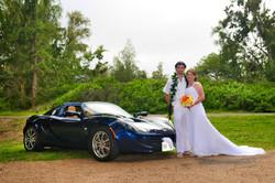 alohaislandweddings- Lotus car -23