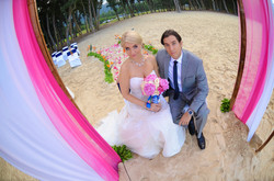 wedding In Hawaii with beautifull bride-39