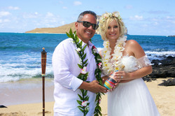 Vow Renewal in Hawaii -17