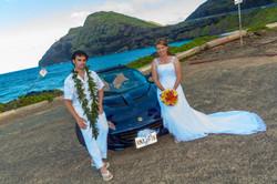 alohaislandweddings- Lotus car -20