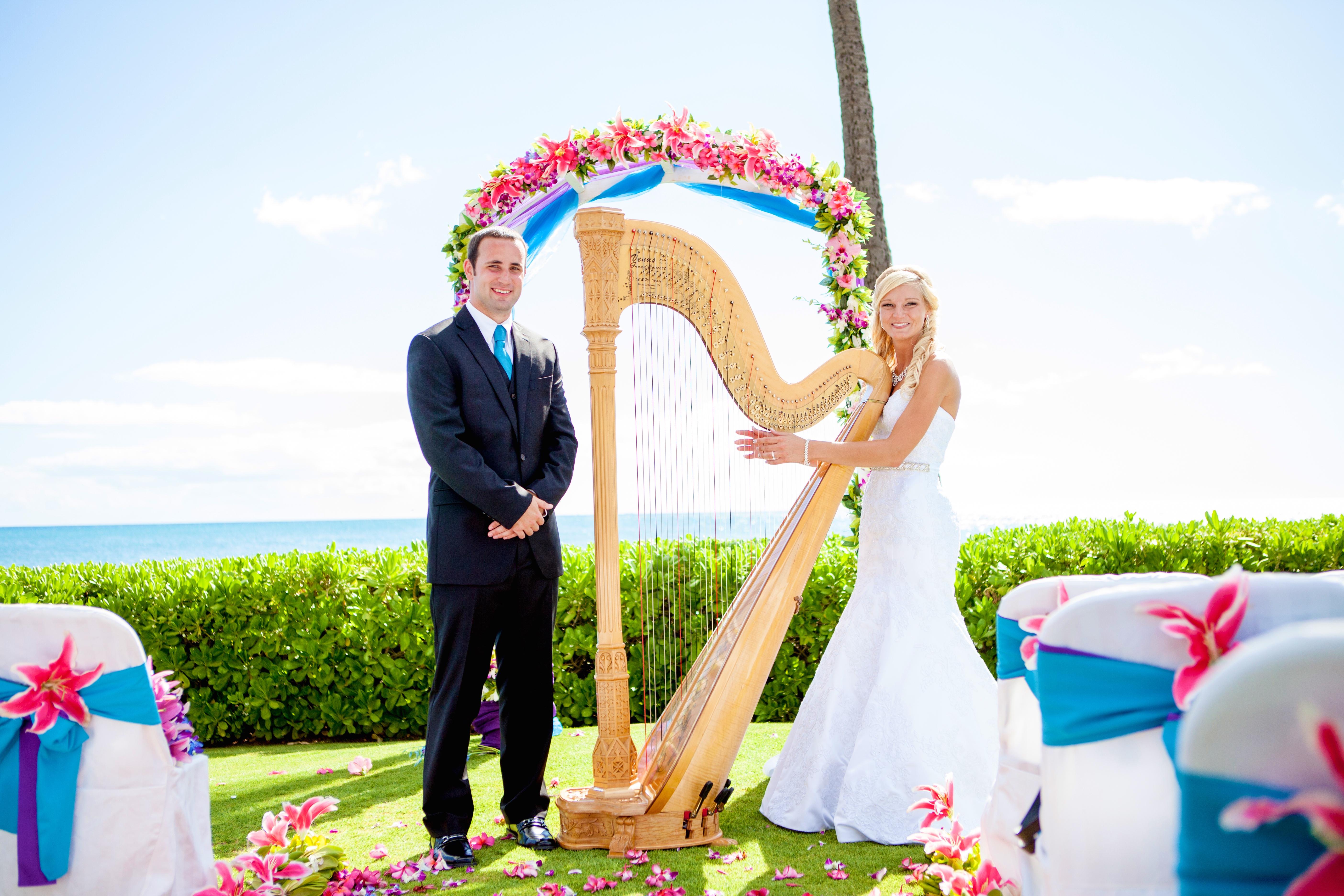 Harpist in Hawaii 9