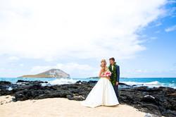 Hawaiian Wedding Pictre Romance -1