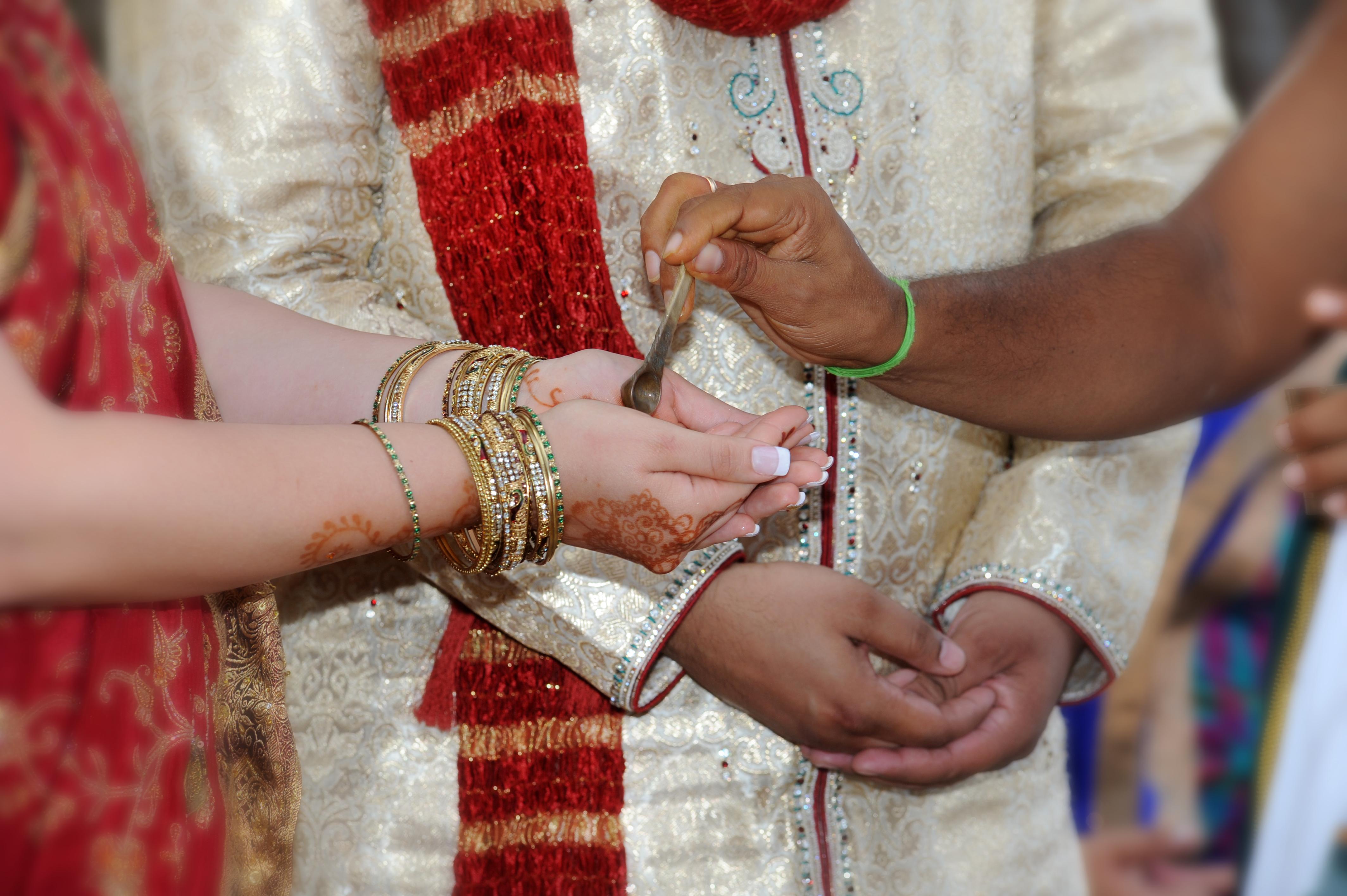 Hawaiian Indian Wedding Ceremony -30