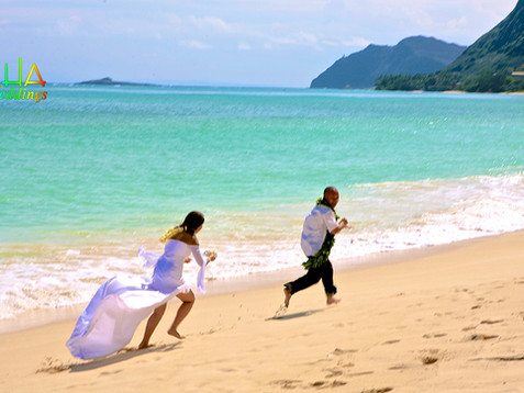 running from the bride during a cake fig