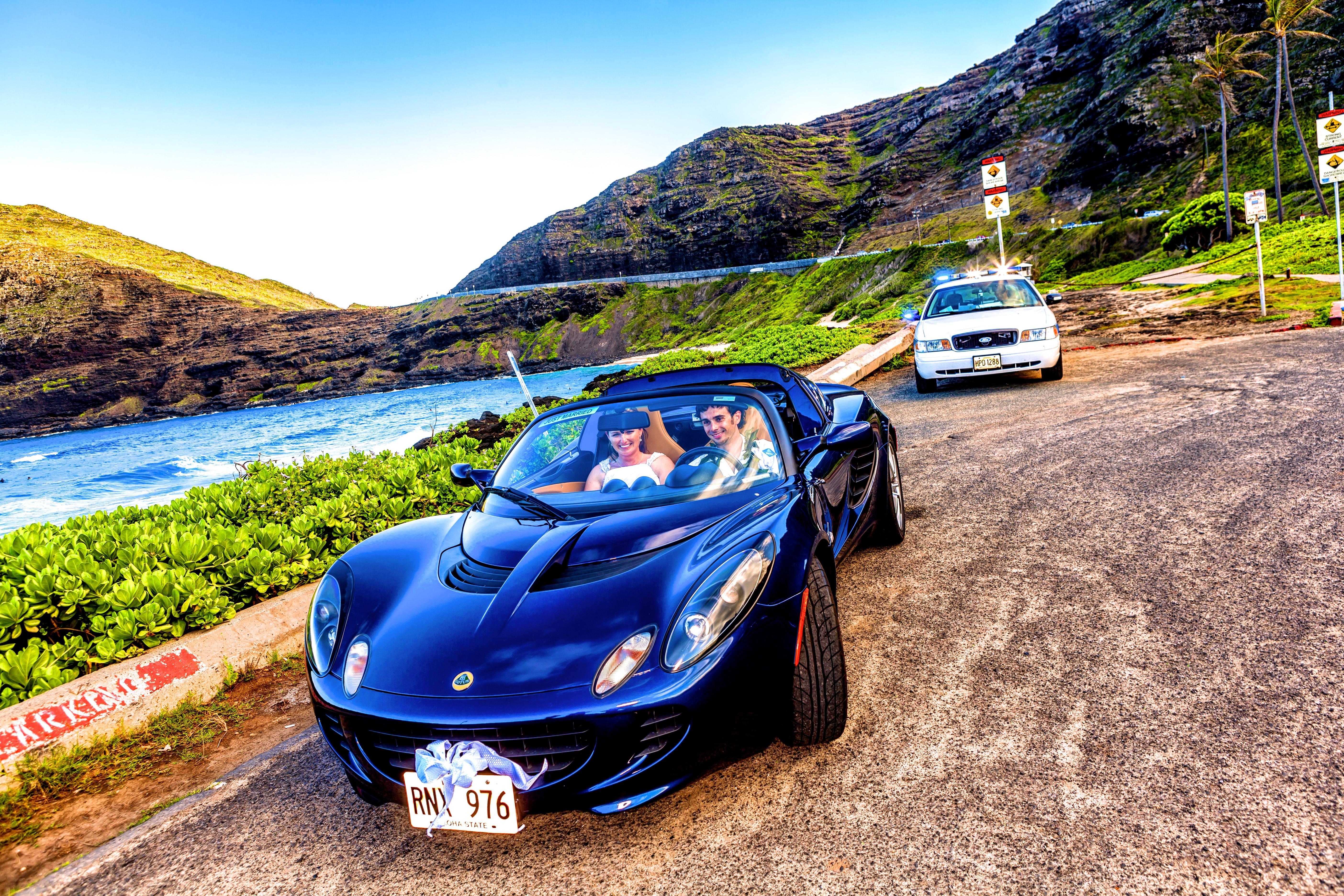 alohaislandweddings- Lotus car -6