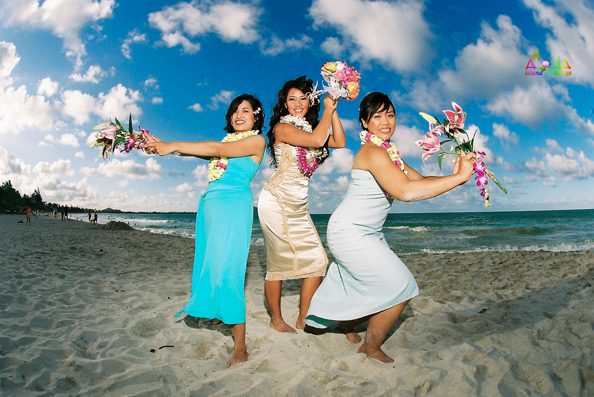 Beach wedding in Kailua-7