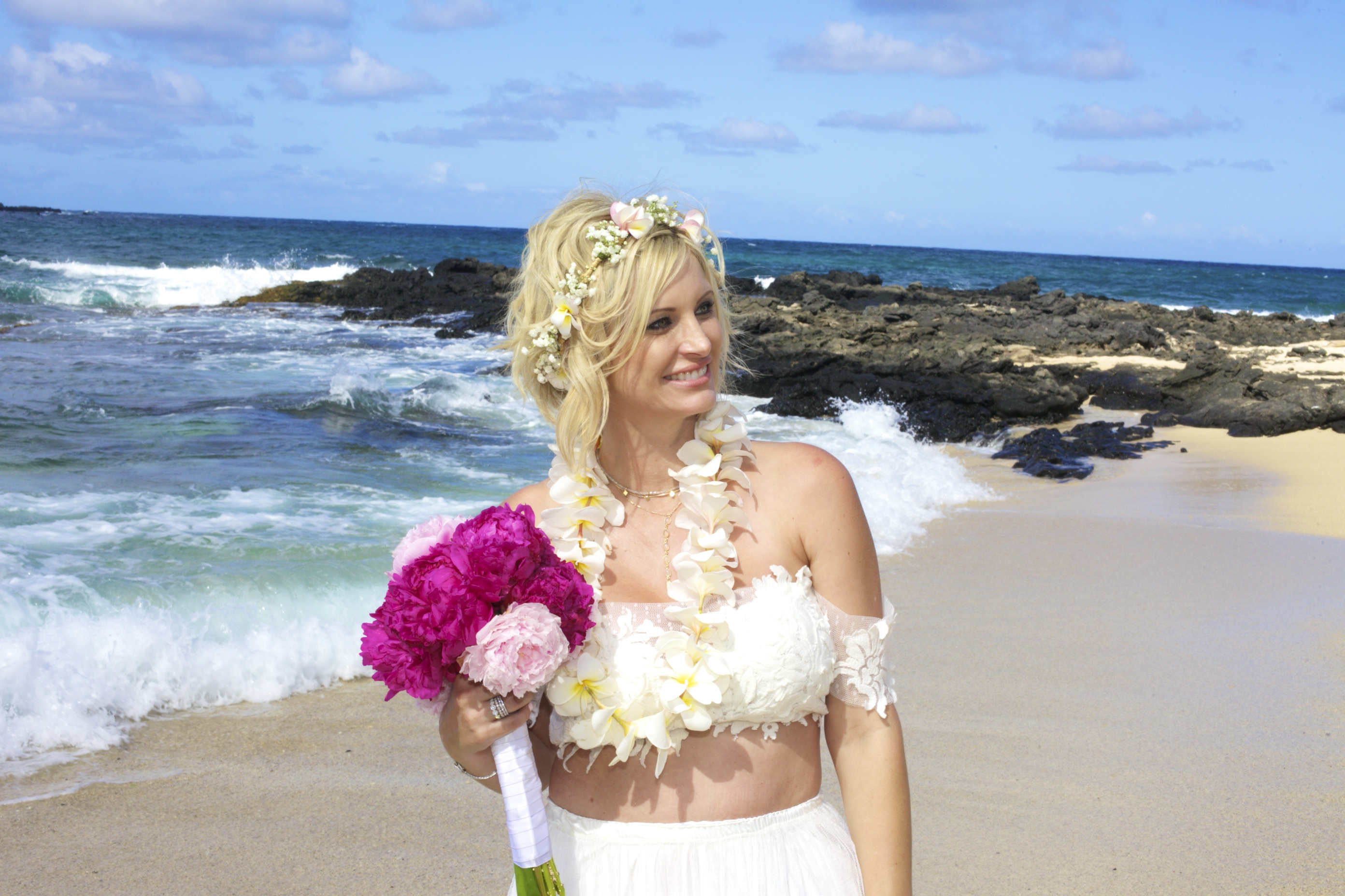 Vow Renewal in Hawaii -78