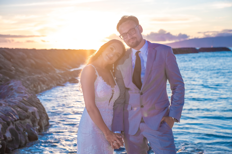 Magic island Hawaii beach wedding -59