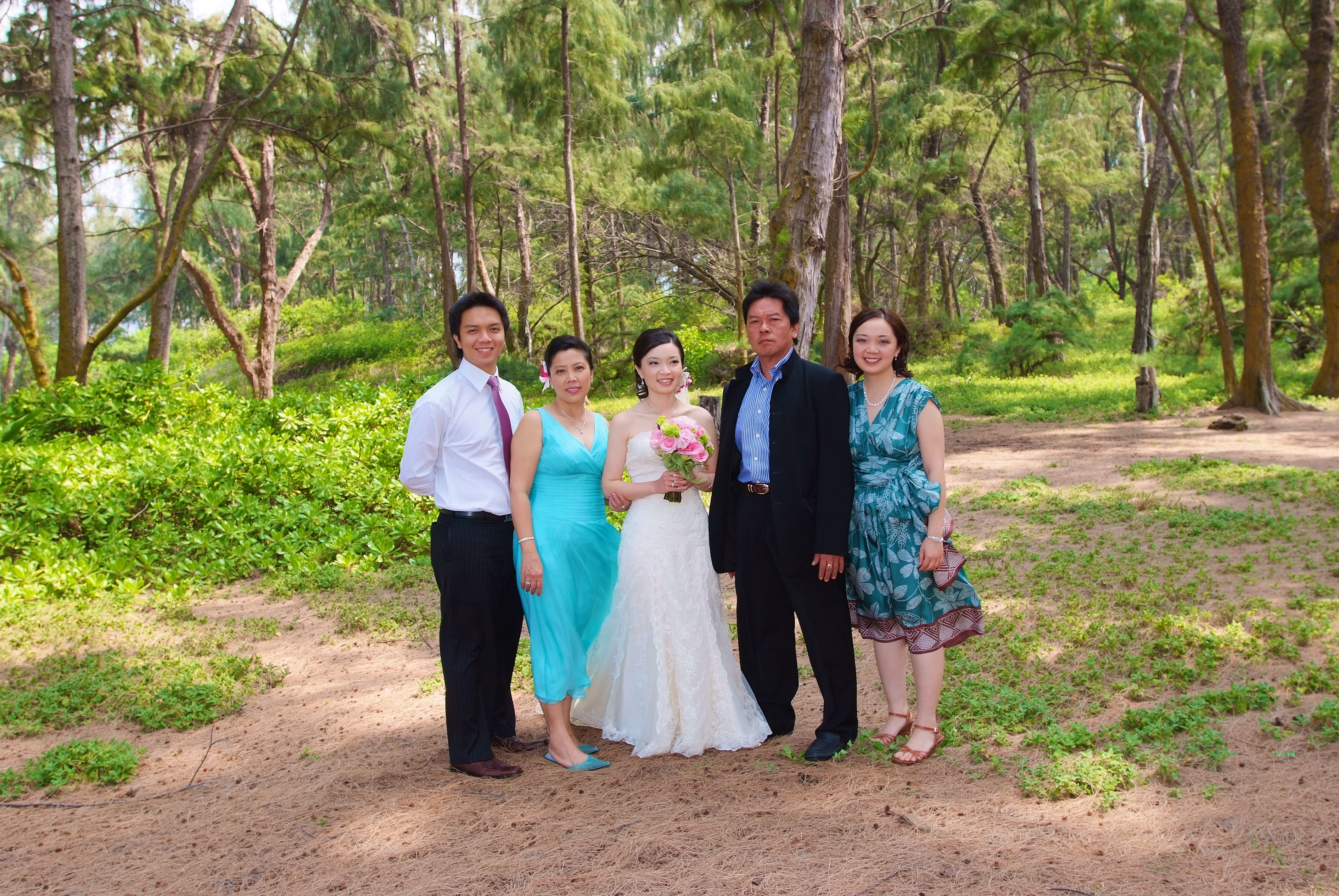 Wedding Picture in Hawaii -0