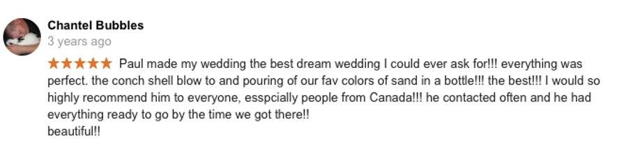 Hawaii Wedding review 30