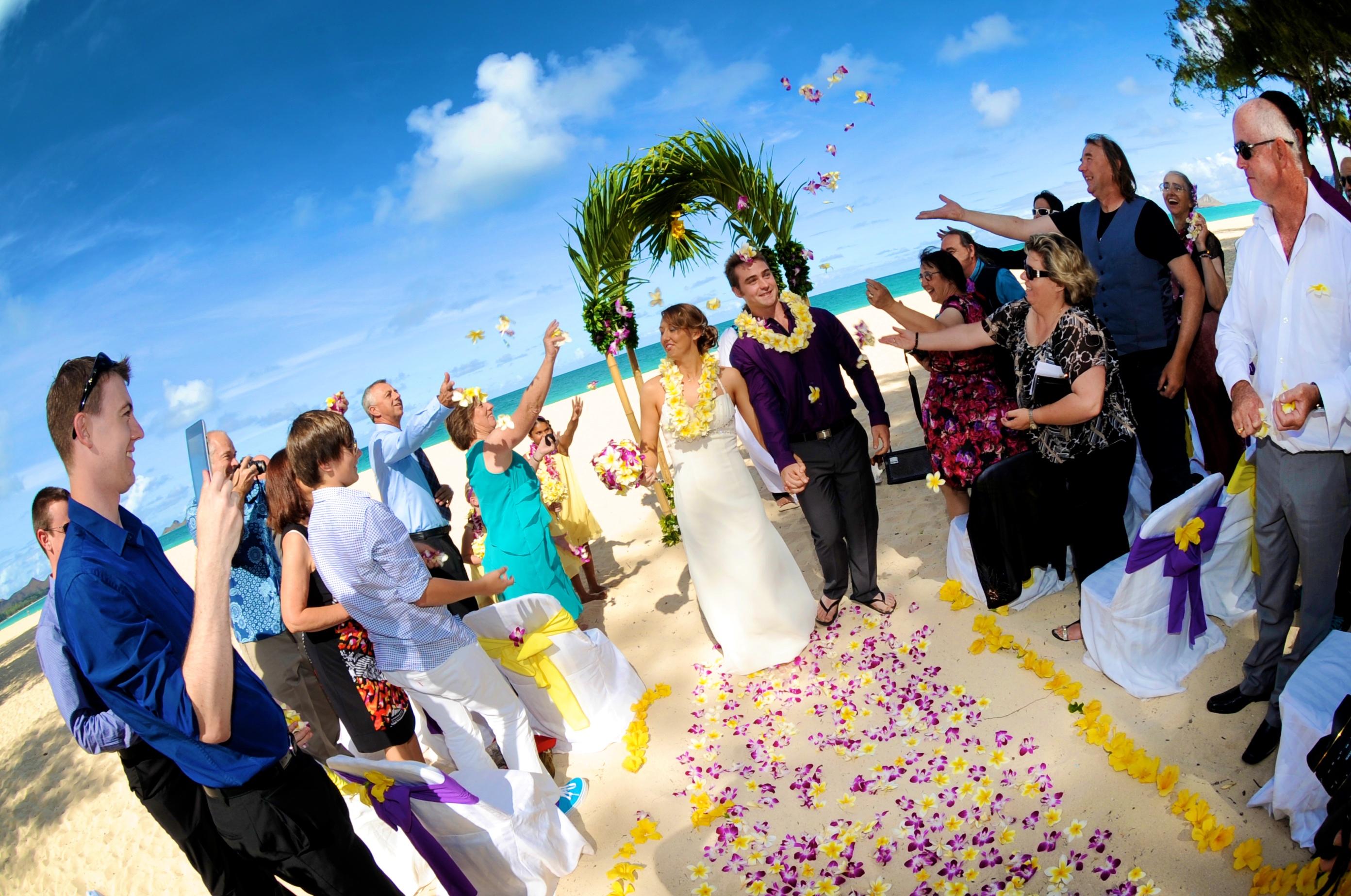Hawaiian Wedding -91