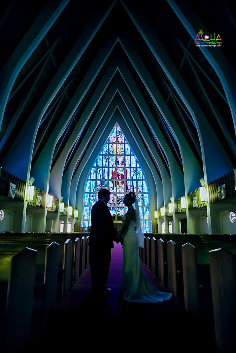 Hawaiian Church Wedding on Oahu-29