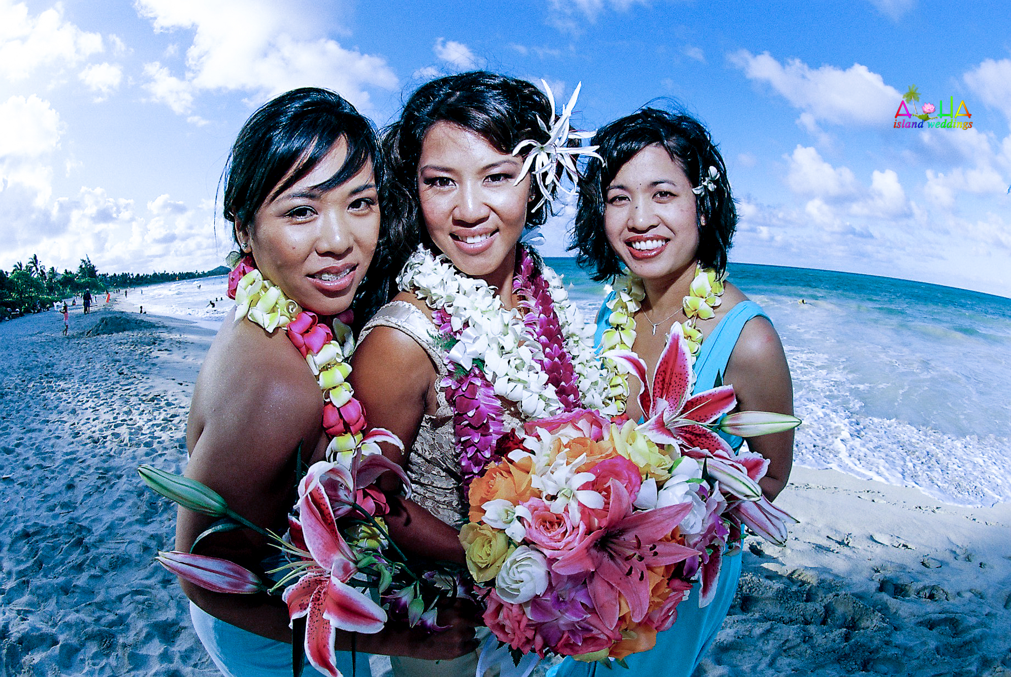 Beach wedding in Kailua-107