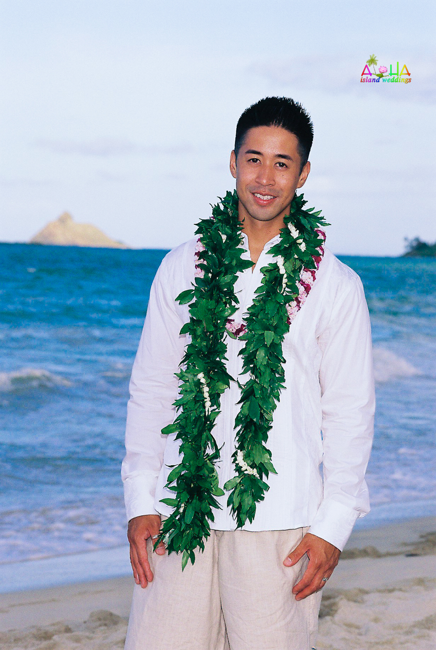 Beach wedding in Kailua-2