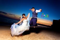 Sunset wedding in hawaii 6