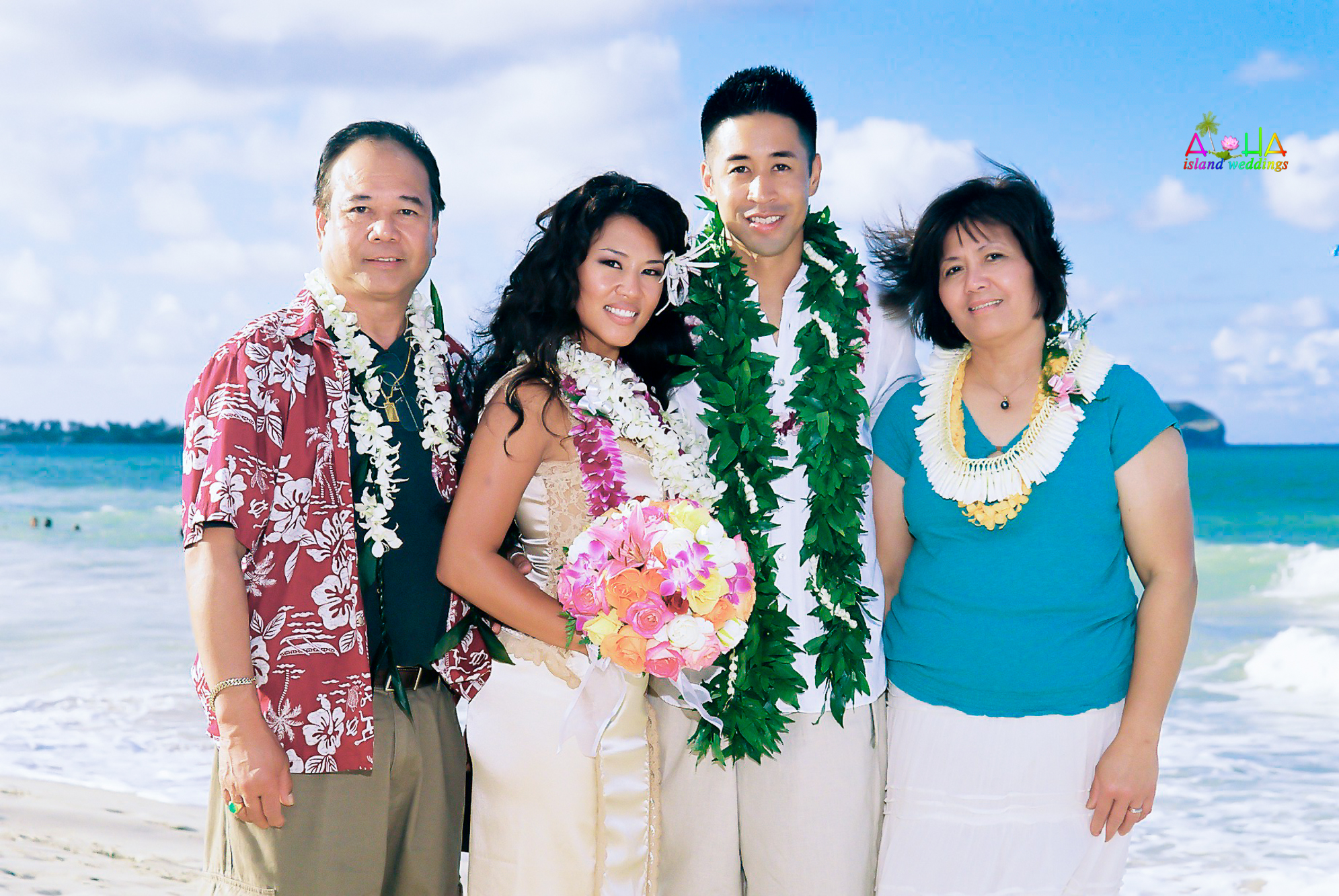 Beach wedding in Kailua-117