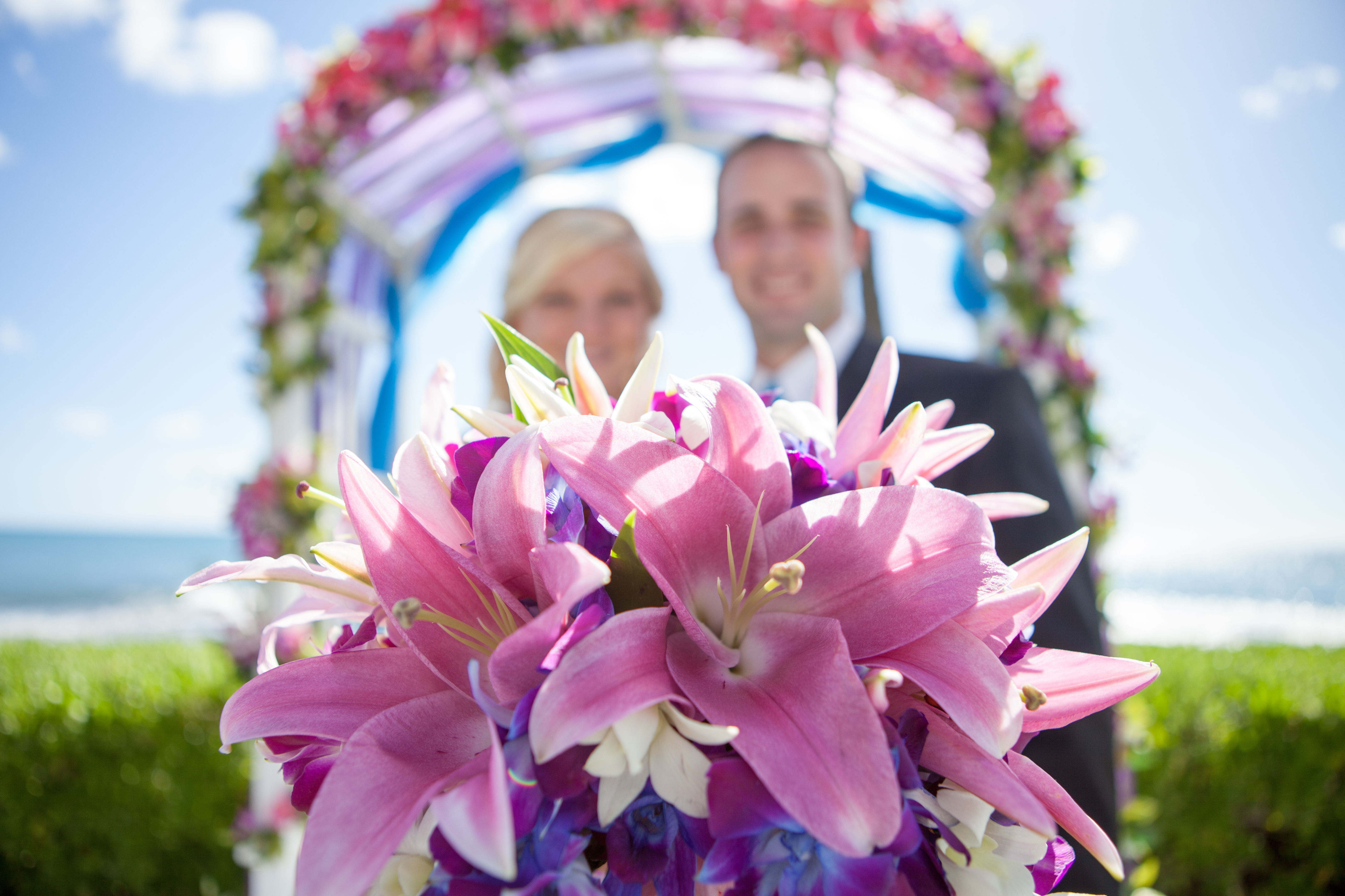 Hawaii wedding paradise cove 1