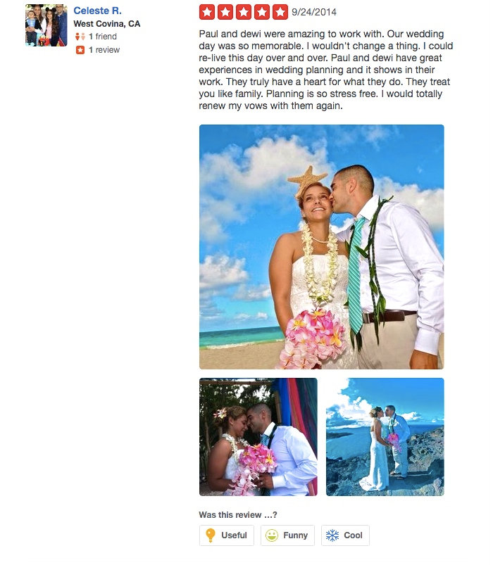 Review from wedding couples  19