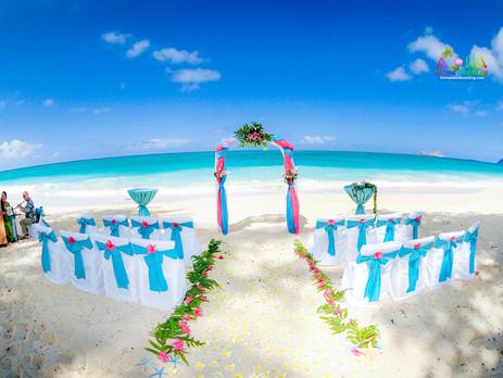 Estate wedding in Hawaii