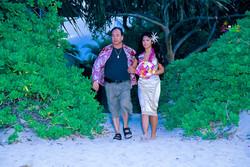 Beach wedding in Kailua-84