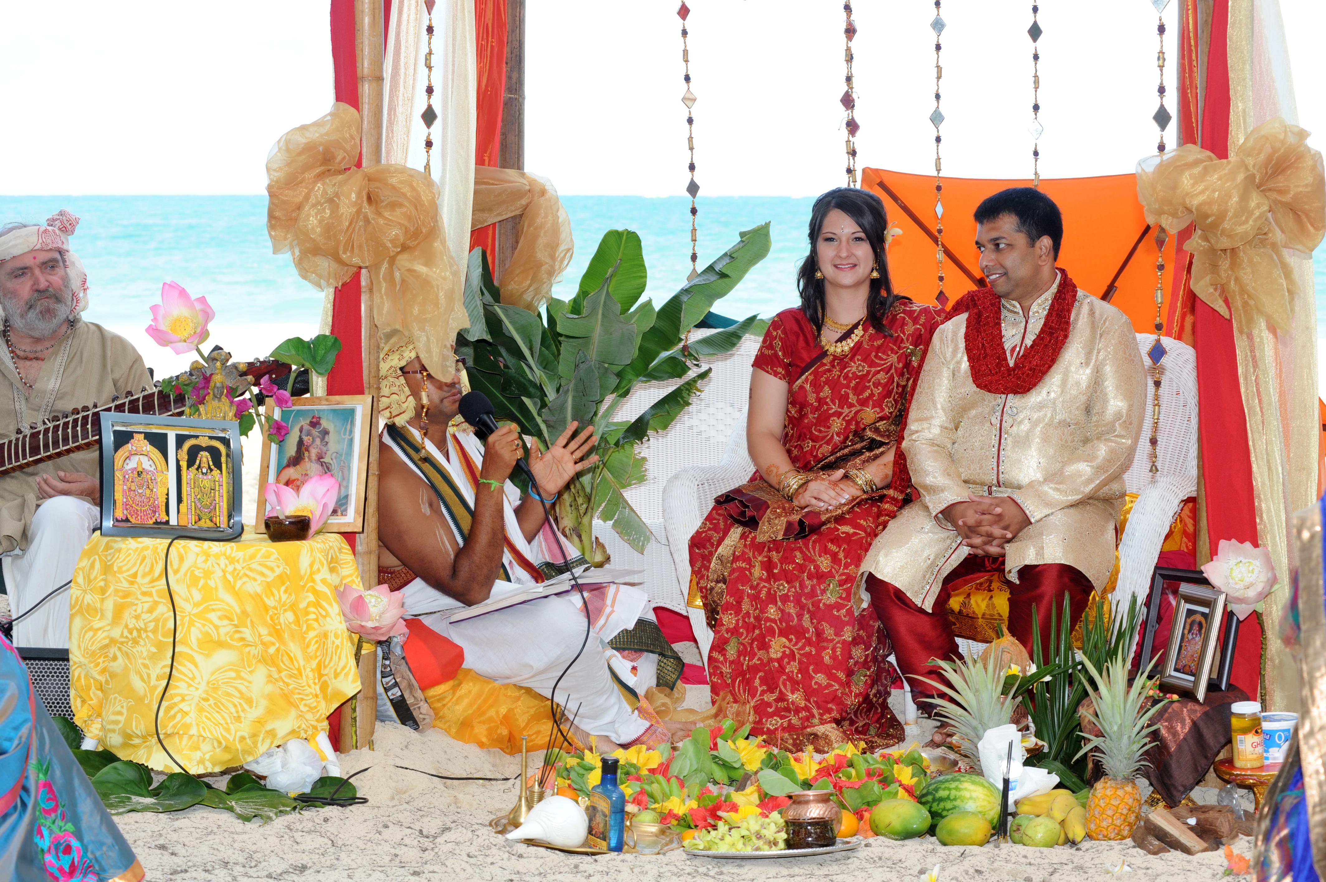 Hawaiian Indian Wedding Ceremony -26