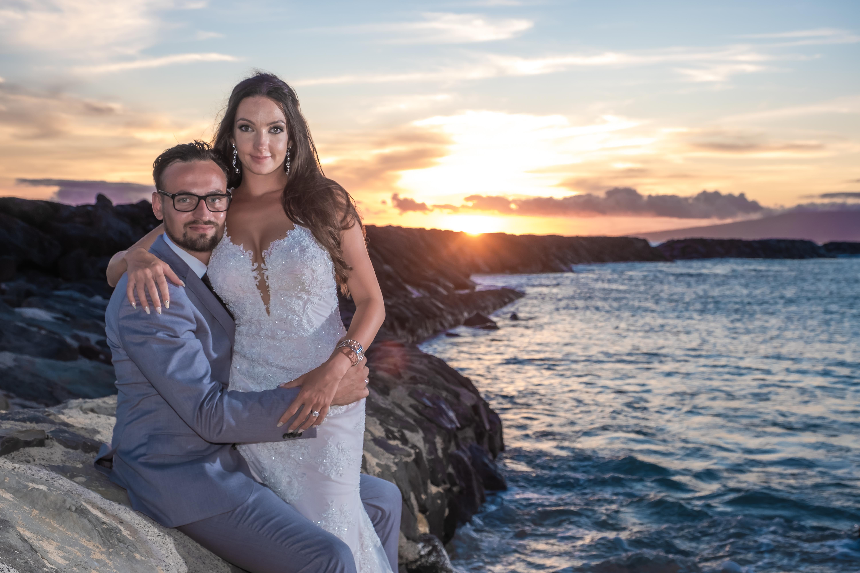 Magic island Hawaii beach wedding -38