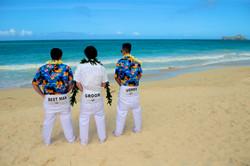 Hawaii beach wedding - lotus car 4