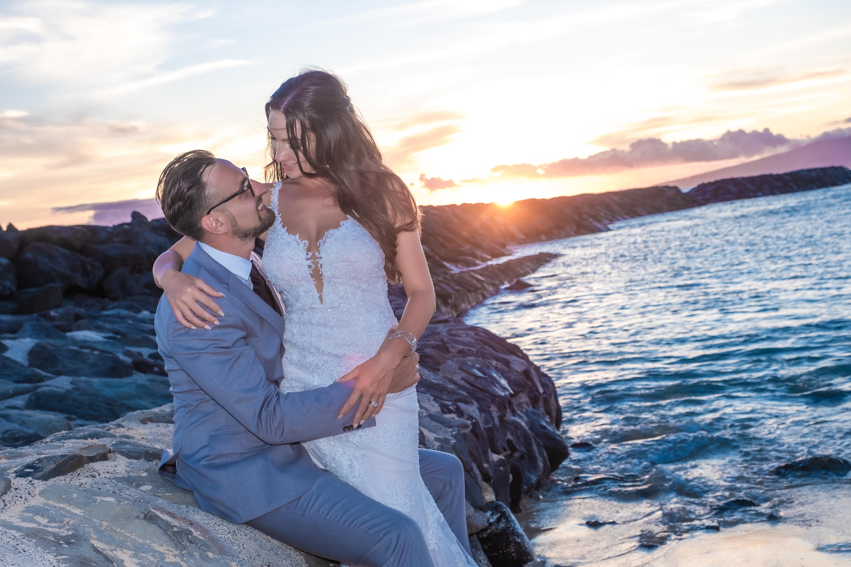 Magic island Hawaii beach wedding -39
