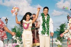 Beach wedding in Kailua-17