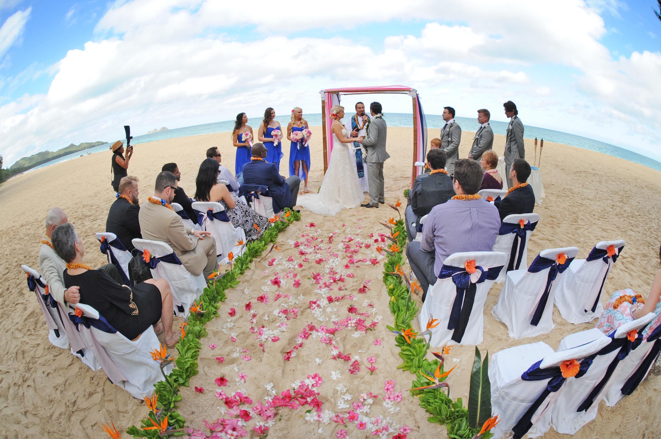 Chapel in the Sand Hawaii Wedding 1