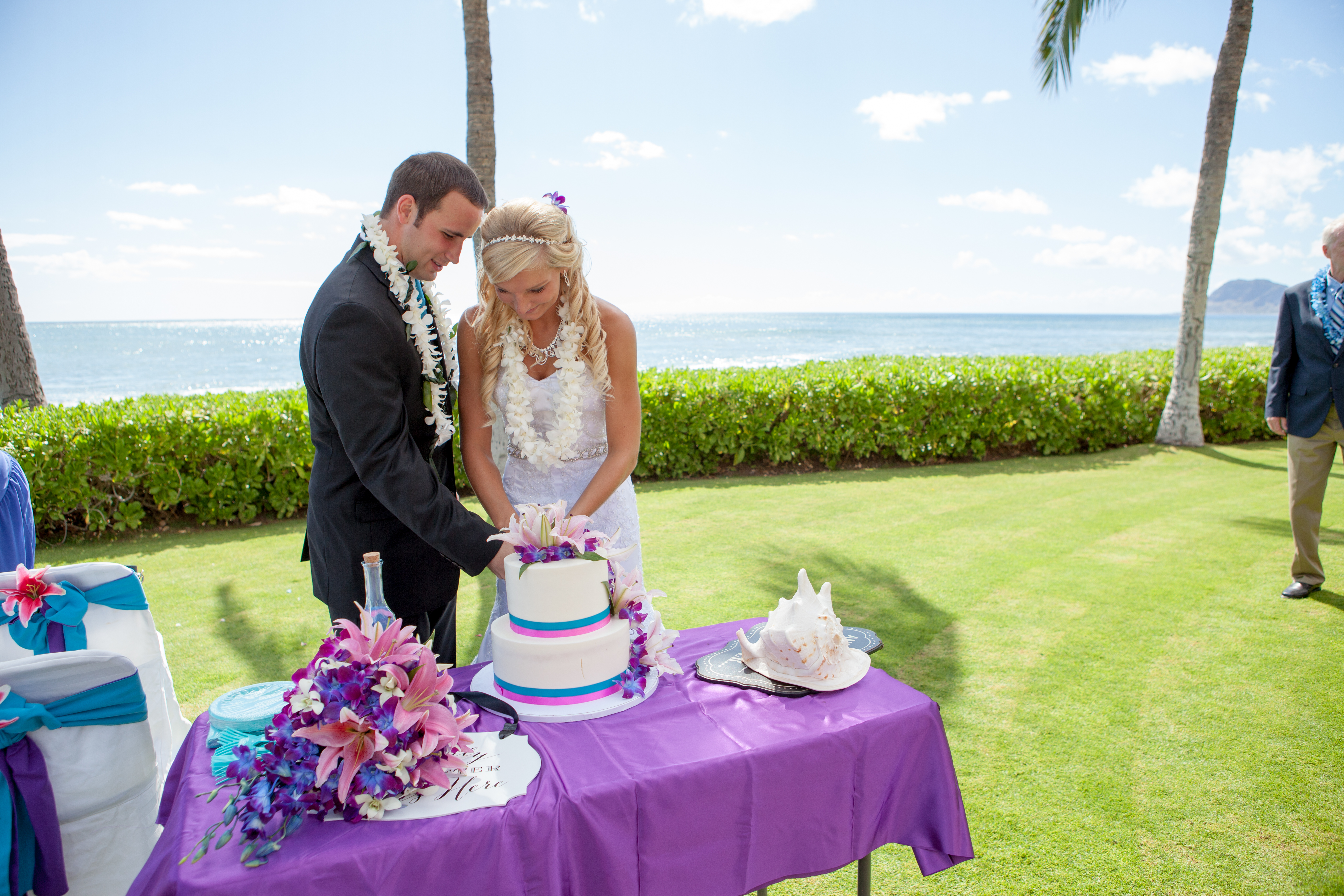 Wedding ceremony at paradise cove 5