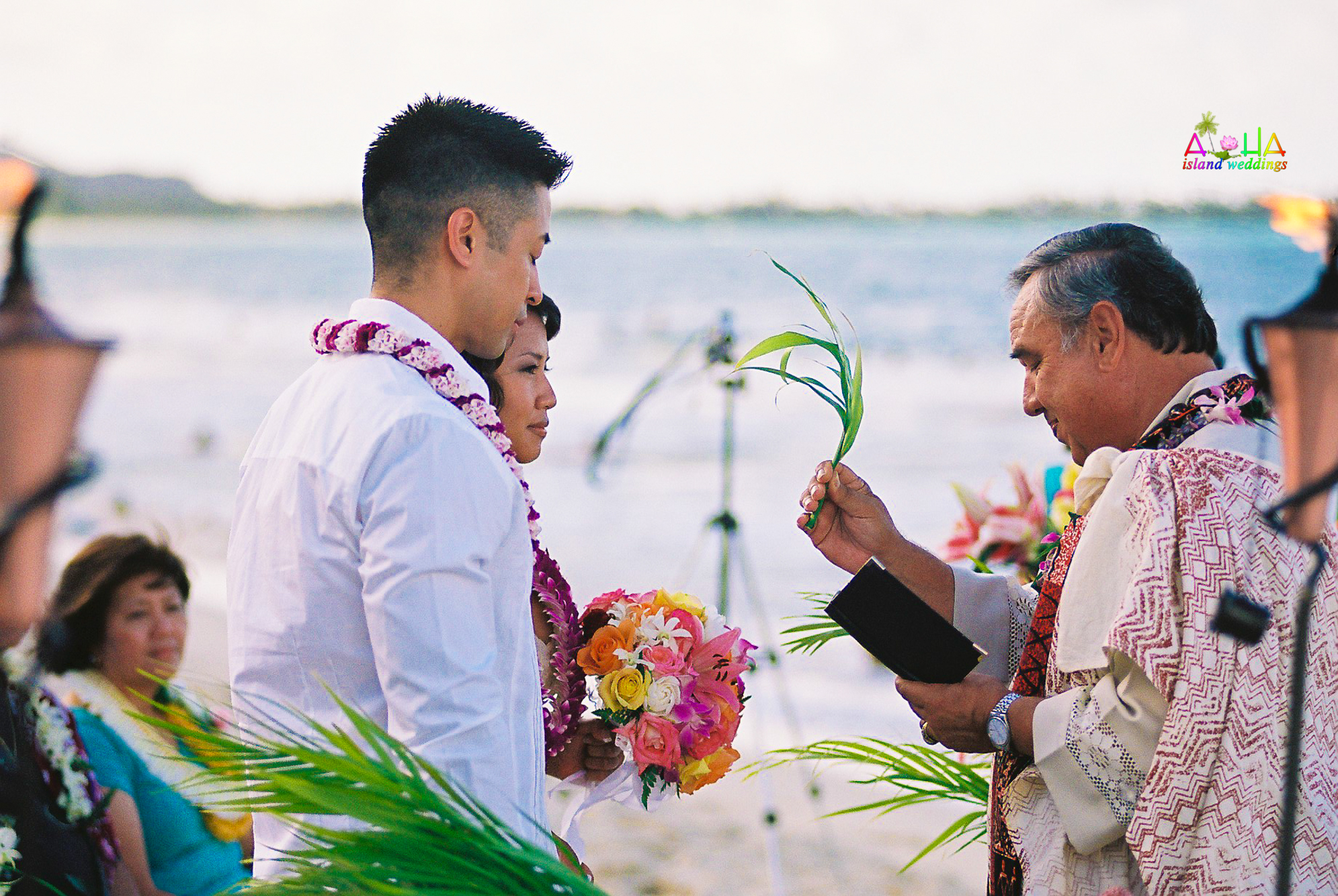 Beach wedding in Kailua-49