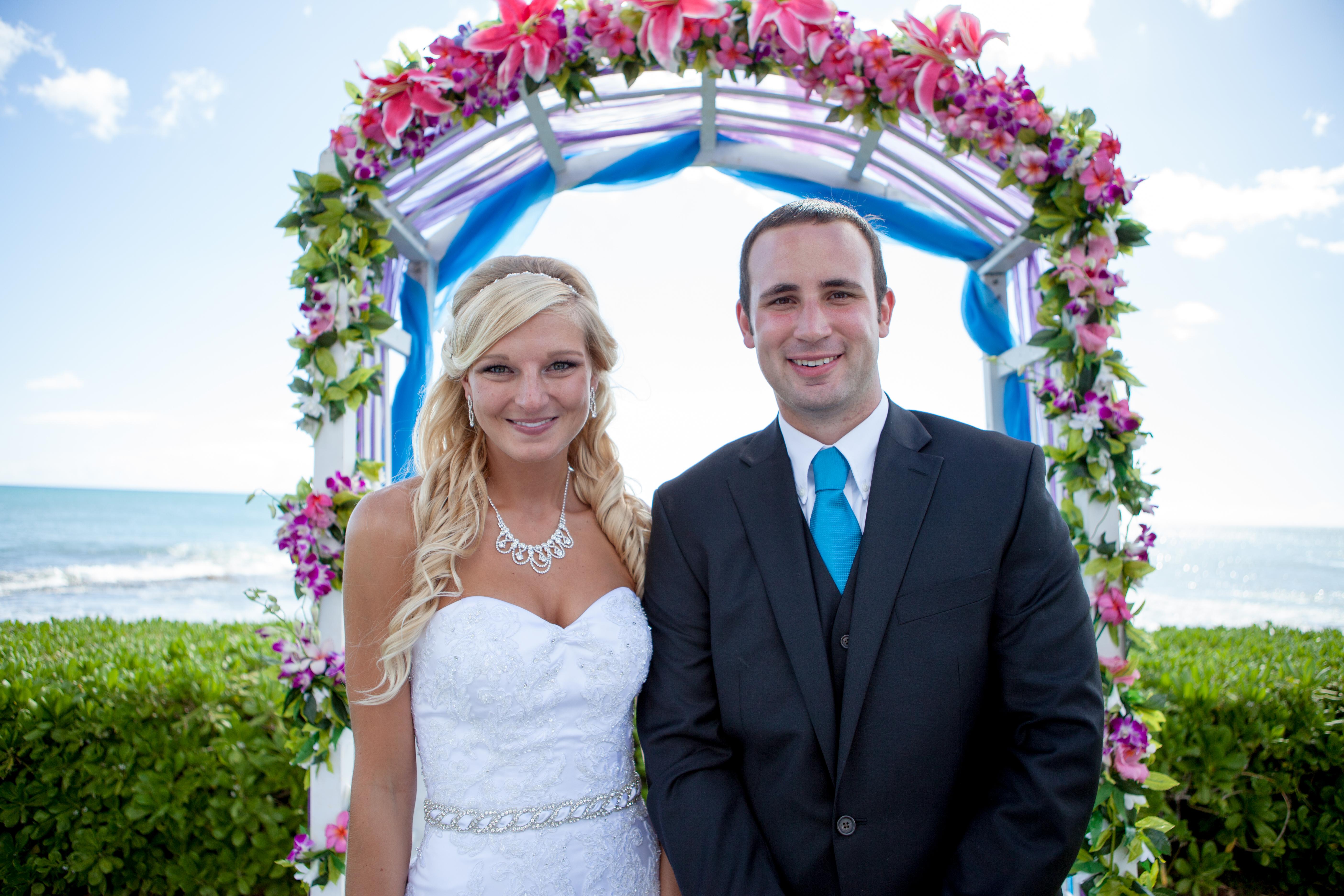 Hawaii wedding paradise cove 18