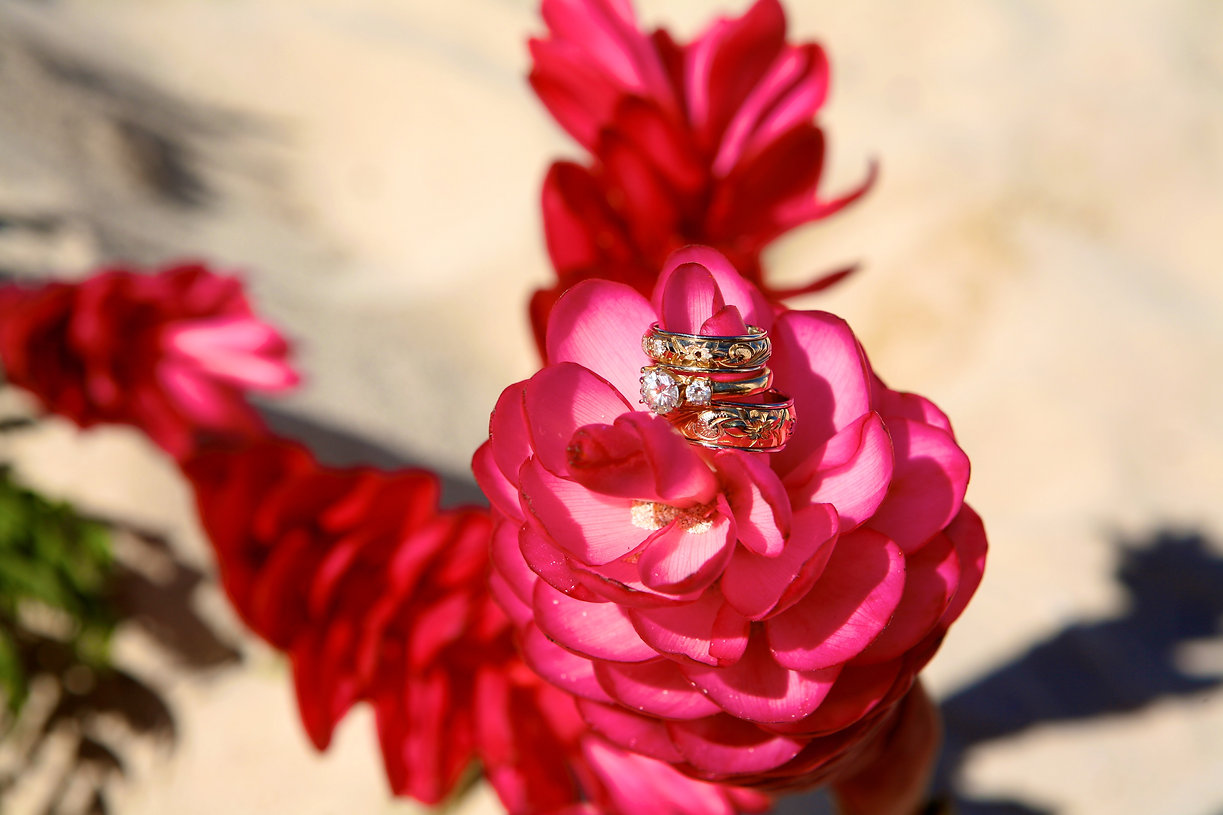 Hawaii wedding ring