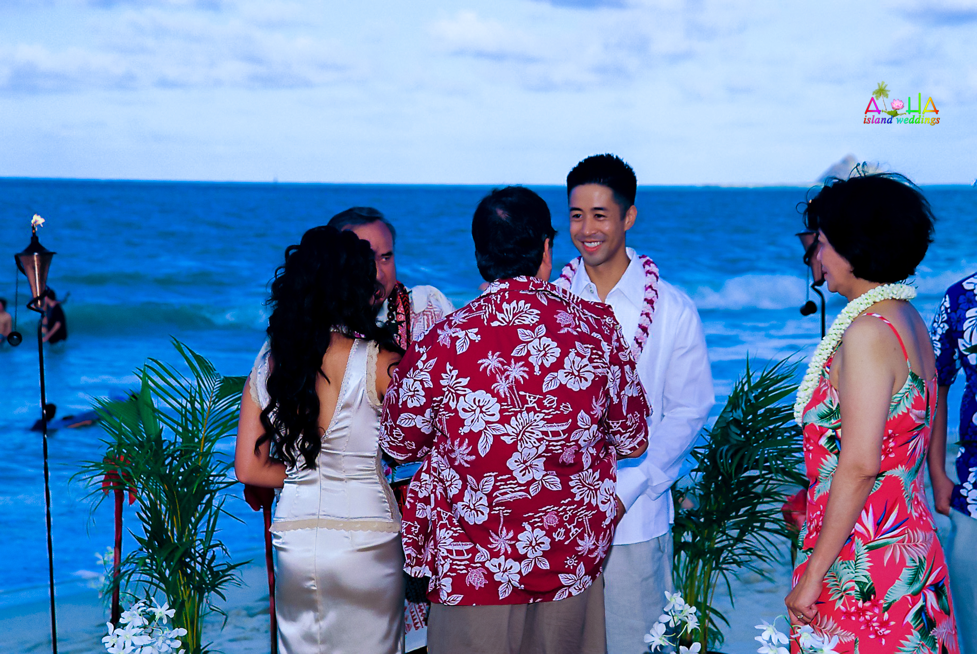 Beach wedding in Kailua-81