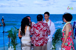 Beach wedding in Kailua-81