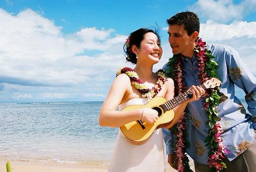 Wedding at waialae beach