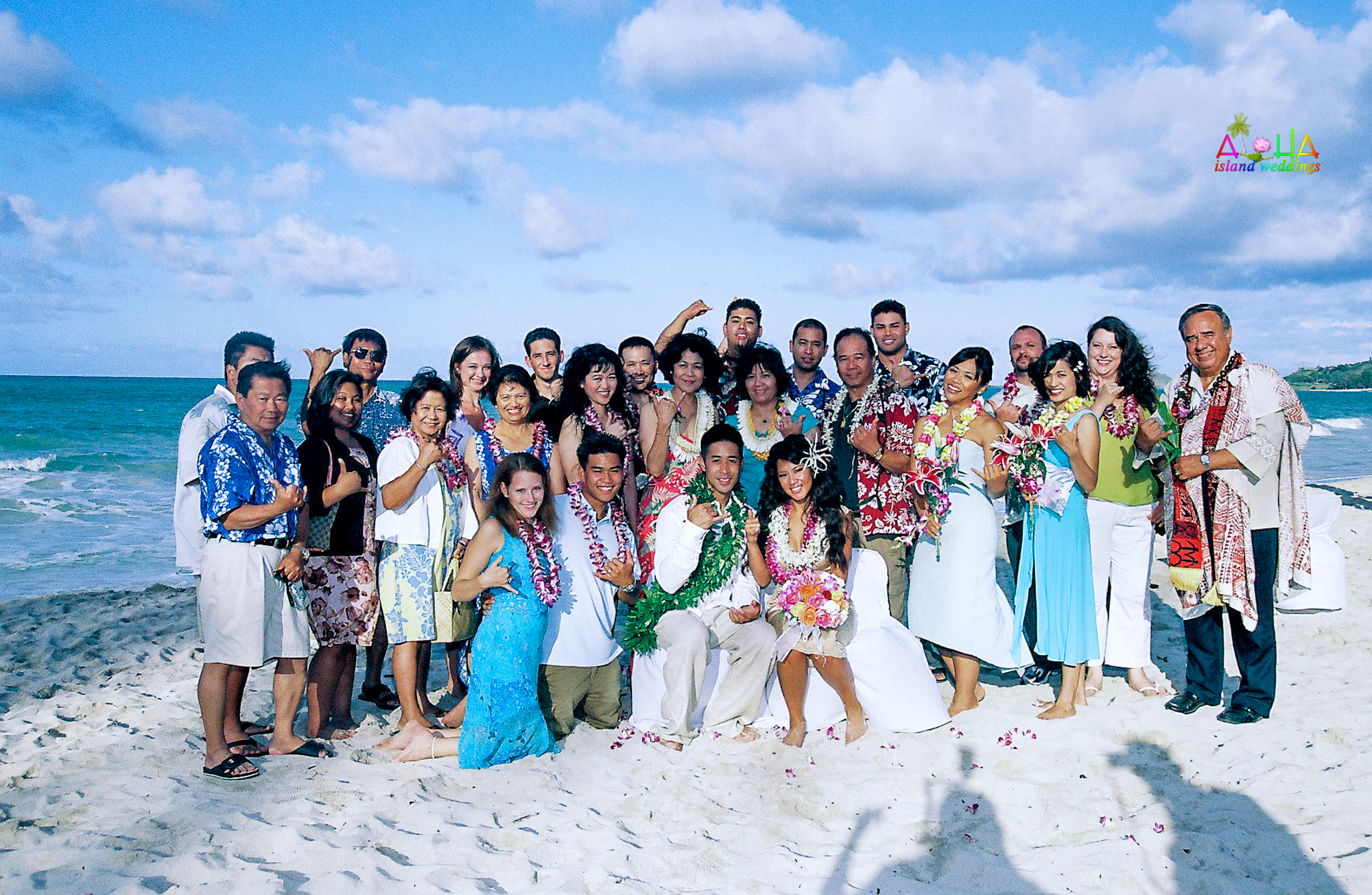 Beach wedding in Kailua-110