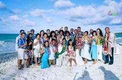 Beach wedding in Kailua-110