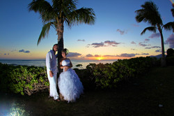 Sunset hawaii Wedding Picture -19