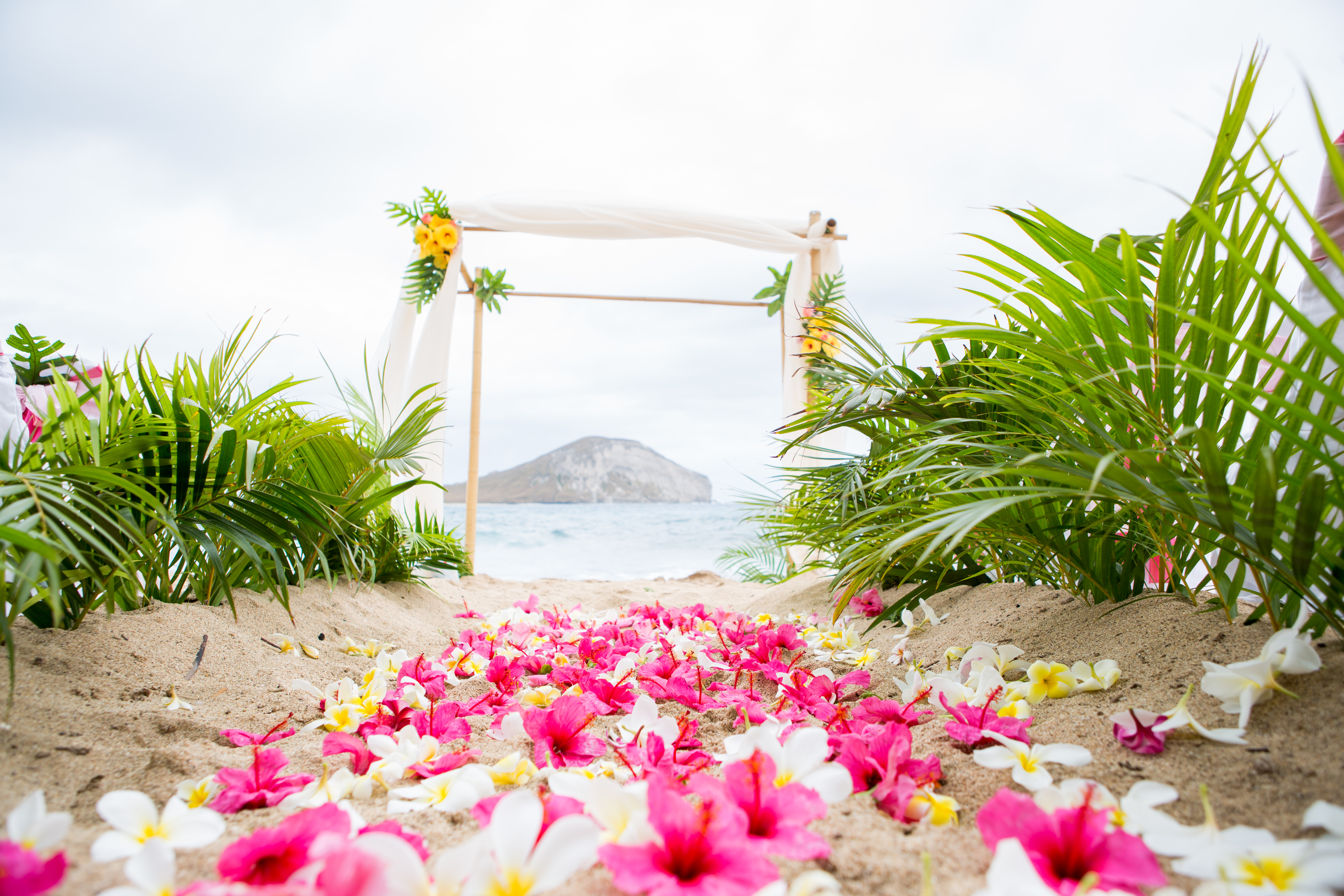 Hawaiian Wedding Ceremony -4
