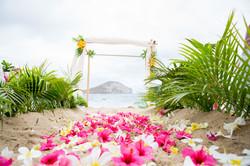 Hawaiian Wedding Ceremony -4