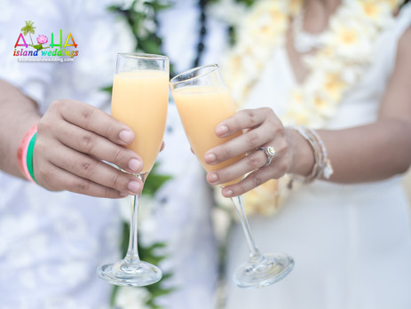 10 Year vow renewal in Hawaii