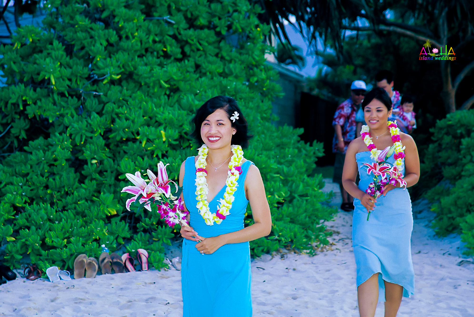 Beach wedding in Kailua-86