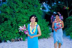 Beach wedding in Kailua-86