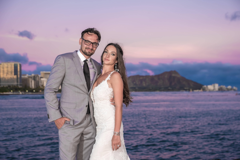 Magic island Hawaii beach wedding -17