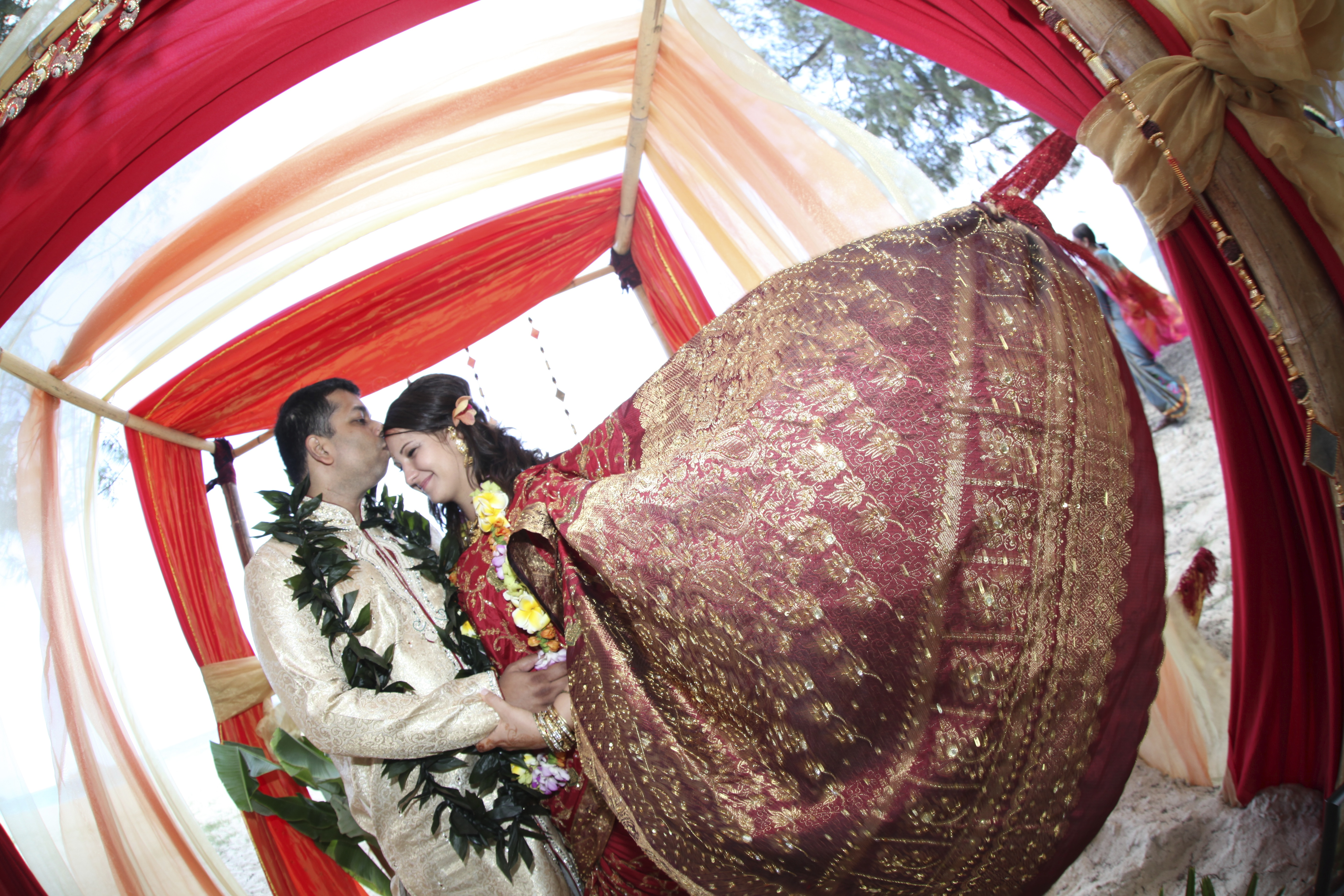 Hawaiian Indian Wedding Ceremony -1