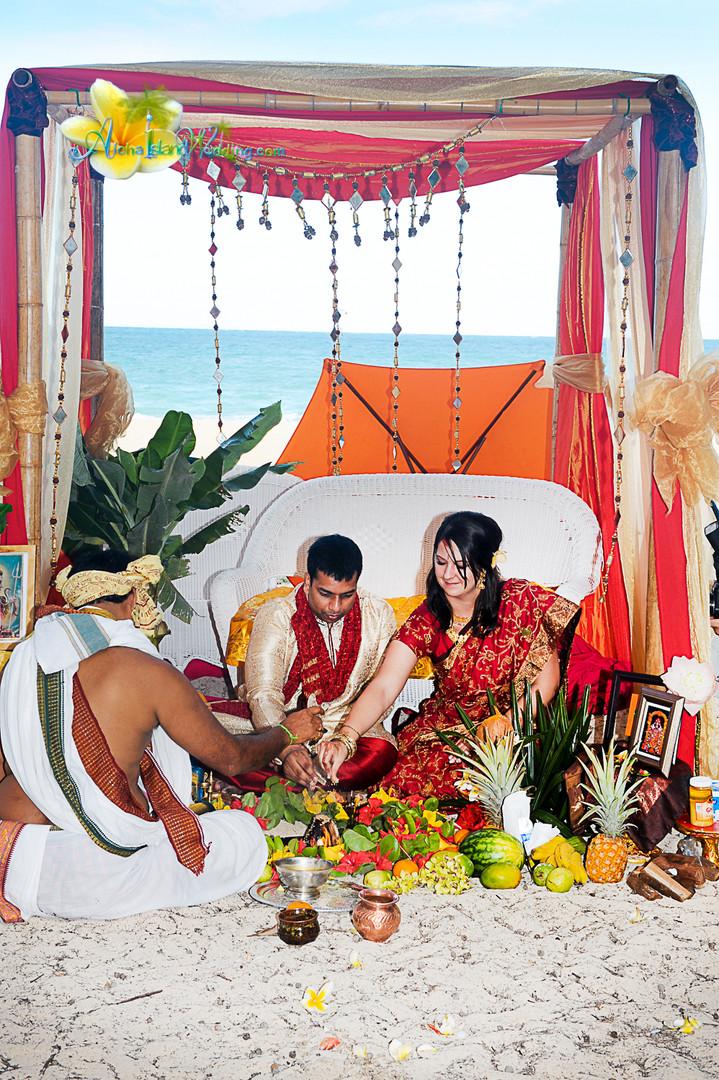Indian wedding ceremony in hawaii-153.jp